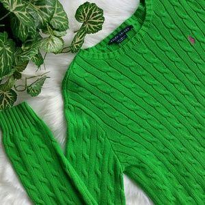 Ralph Lauren|Cable Knit|Sweater|B5